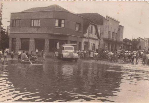 Enchente década de 50