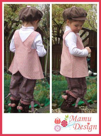 Variante 1 vom Hängerchen für Mädchen und junge Mamas   Nähen ...