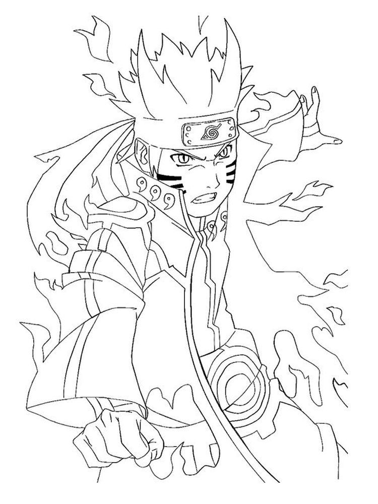 Naruto Coloring Pages Free Below Is A Collection Of Naruto Coloring Page Which You Can Download For Free Cartoon Coloring Pages Coloring Pages Naruto Sketch
