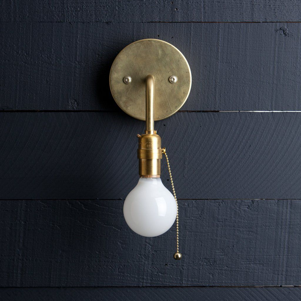 Br Wall Sconce Pull Chain