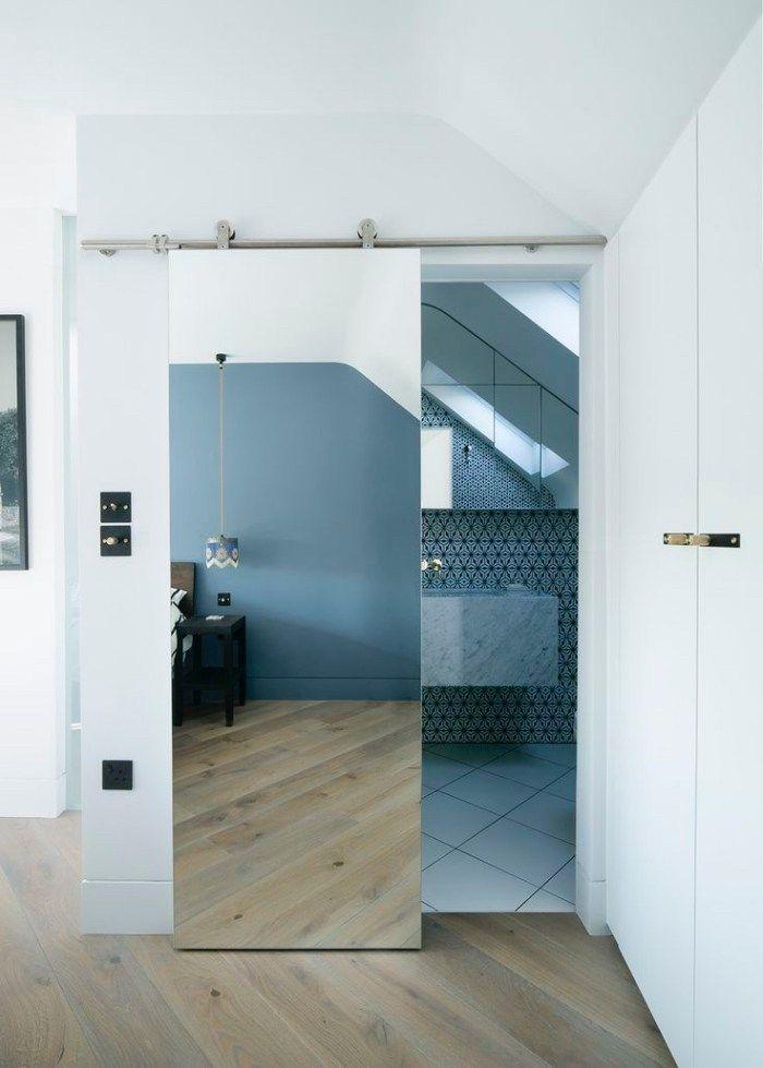 Door Decoration 50 Ideas For Converting The Interior Door Into An Unbelievable Decorative Element Doors Interior Interior Sliding Barn Doors Sliding Bathroom Doors