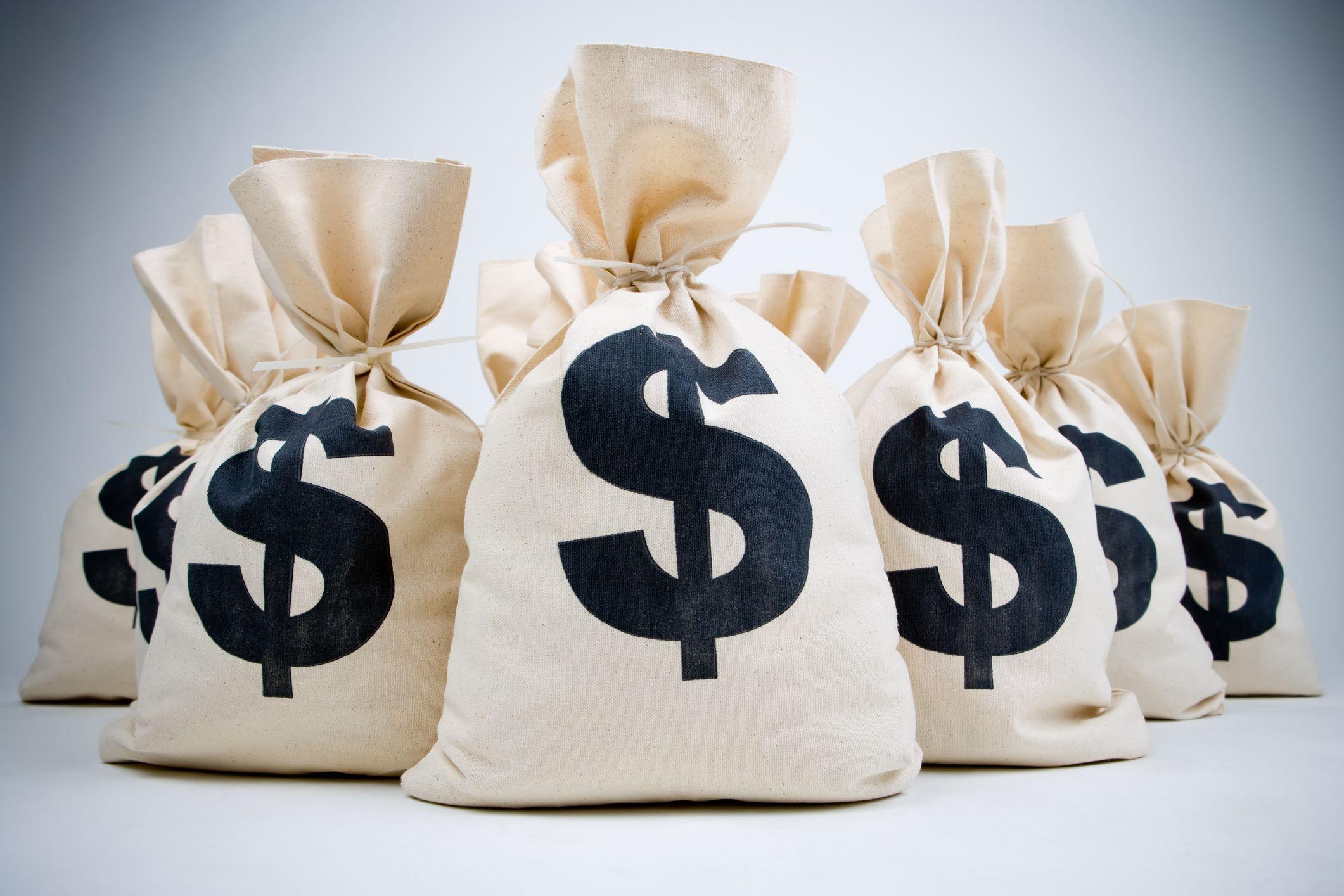 Открытки, мешок с деньгами картинка надписи