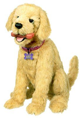 Amazon Com Fur Real Friends Biscuit My Lovin Pup Toys Games