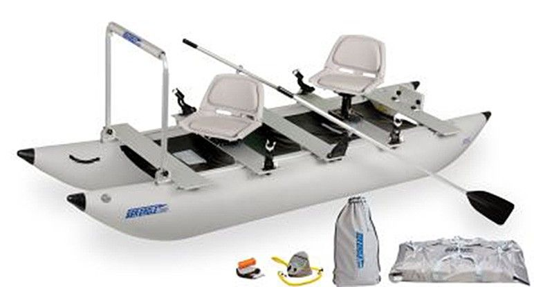 Are you looking to catch more fish? In less time? With less hassle? With the new, patent pending Sea Eagle FoldCat you can ▲Get to more fishing spots than you've ever thought were reachable  ▲Catch more fish! ▲Have more fun! ▲Save *BIG MONEY* over traditional gas-guzzling bass boats