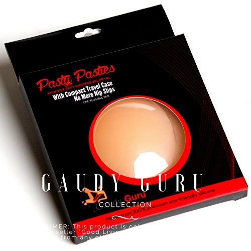 Sticky Nip Cover Pasties for Women Reusable Gel Nipples Petals by Gaudy Guru ** Read more at the image link.