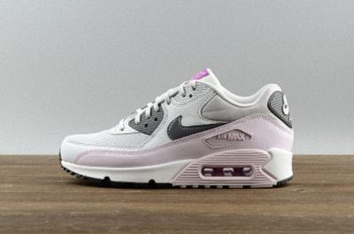 new style bf7d5 161d0 NIKE AIR MAX 90 Essential Wmms Casual Running Shoes Newest Mesh Breathable  616730-112 Pure Platinum Dark Grey