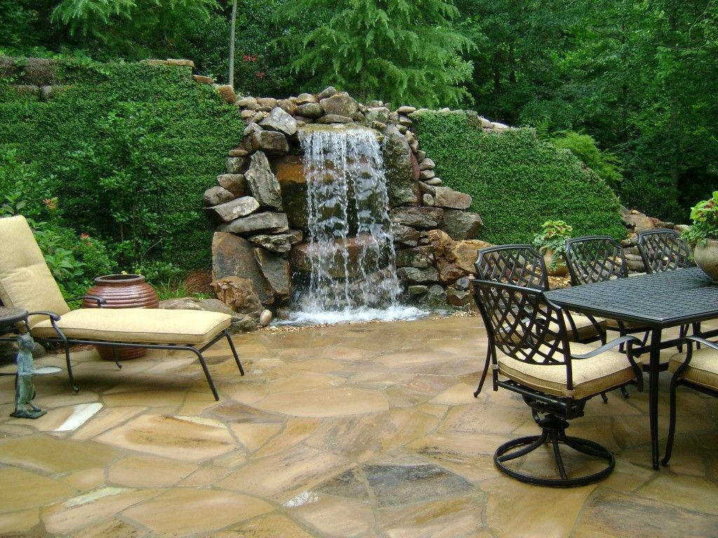 Pin by Christina Baad on Landscaping | Waterfalls backyard ...