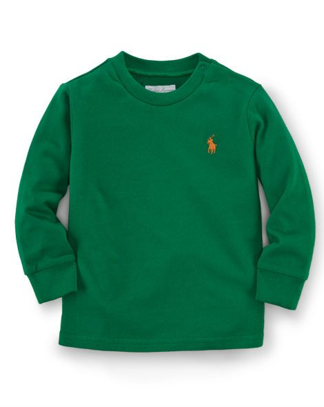 Cotton Long-Sleeved Tee - Baby Boy Tees & Sweatshirts - RalphLauren.com