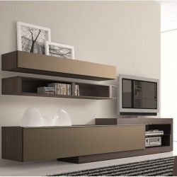 Meuble tv design neva salon pinterest meuble - Meuble tele suspendu design ...