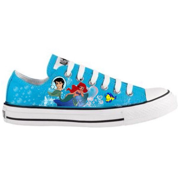 Little mermaid sneakers