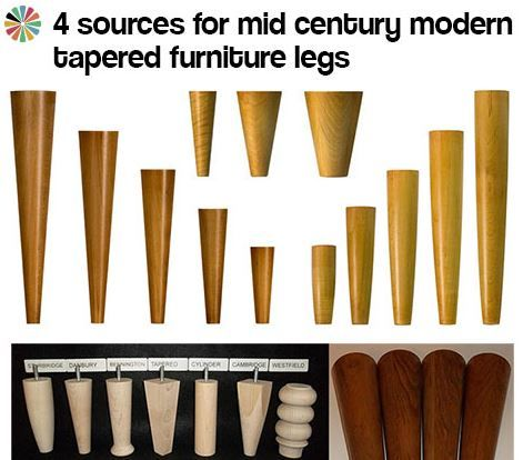 4 Sources For Mid Century Modern Furniture Legs Furniture Legs Mid Century Modern Furniture All Modern Furniture