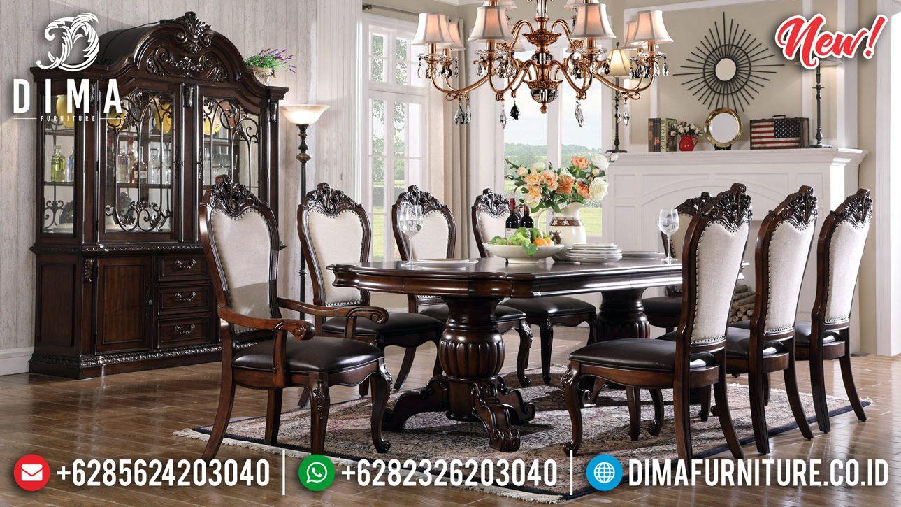 Harga Meja Makan Kayu Jati Klasik Cheap Price Furniture
