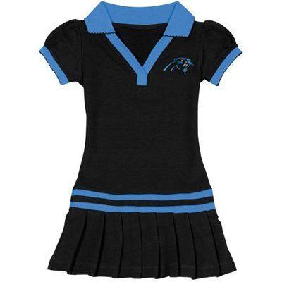 Carolina Panthers Infant Girls Pleated Sundress  panthers  football  nfl 7cfcc99f4