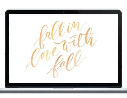 August Desktop Wallpaper | lark & linen
