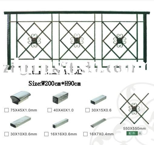 Best Outdoor Iron Steel Balcony Railing Designs For Sale 400 x 300