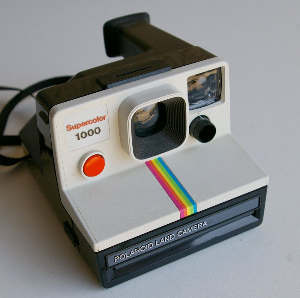1970s polaroid supercolor 1000 land camera tech pinterest polaroid childhood and nostalgia. Black Bedroom Furniture Sets. Home Design Ideas