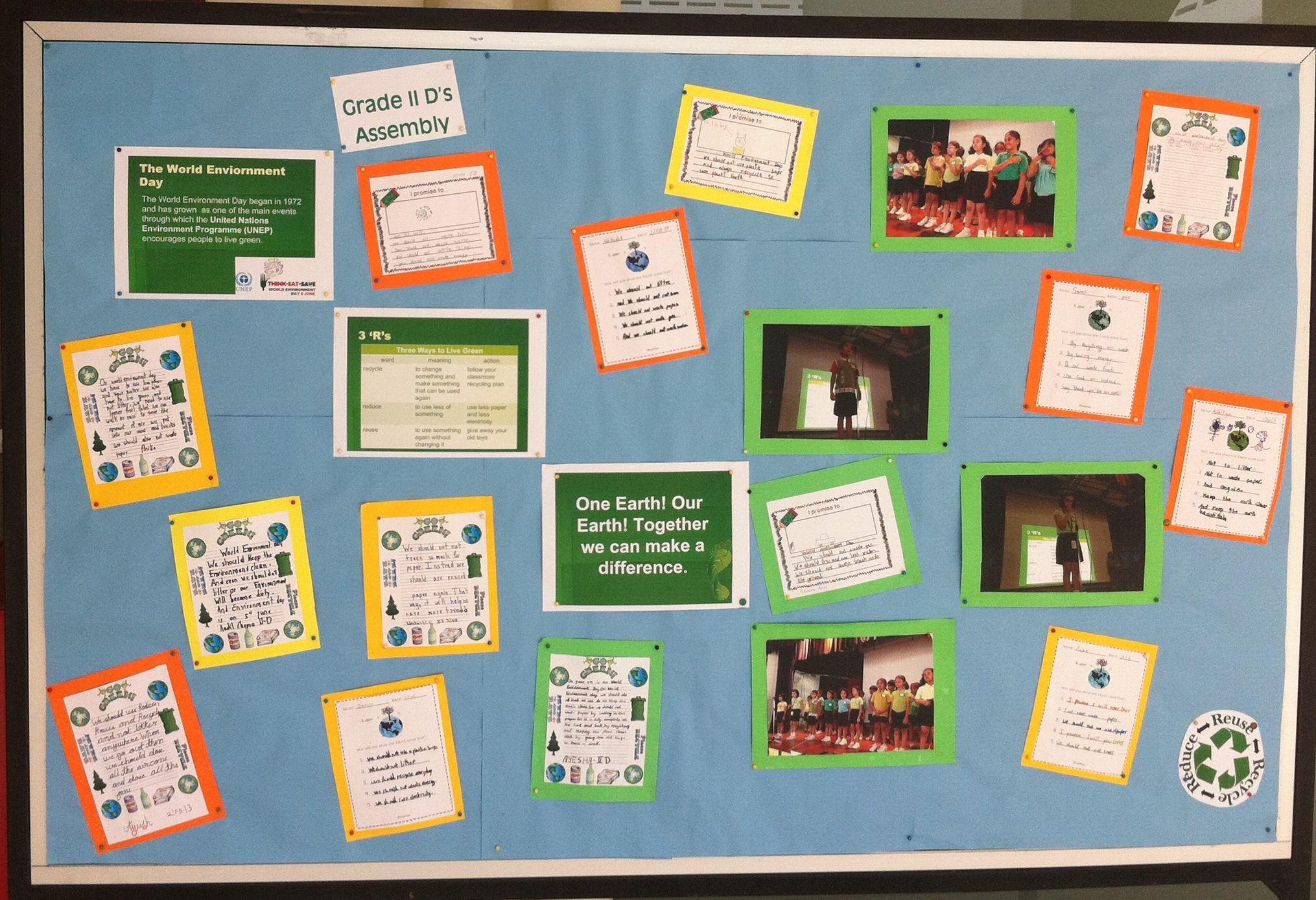 World Environment Day Bulletin Board. Boards
