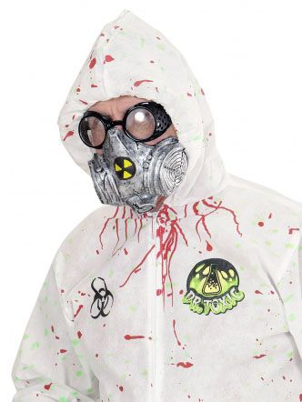 gas mask halloween fancy dress costume accessory outfit idea