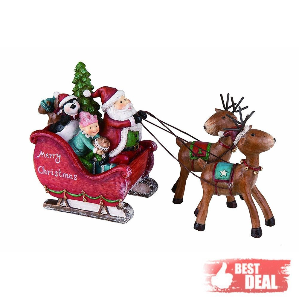 Create The Perfect Christmas Atmosphere With This Mini Santa Sleigh Use As An Eye Catching Table Centerpiece Or It To Candy