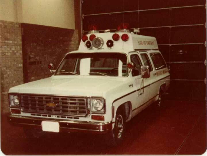 Chevy Suburban Ambulance