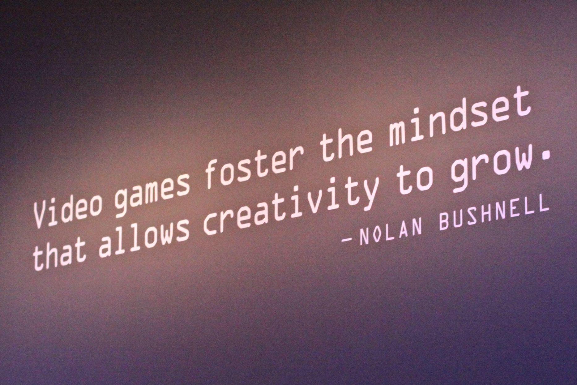 Smithsonian American Art Museum Nolan Bushnell Quote Gaming Geek