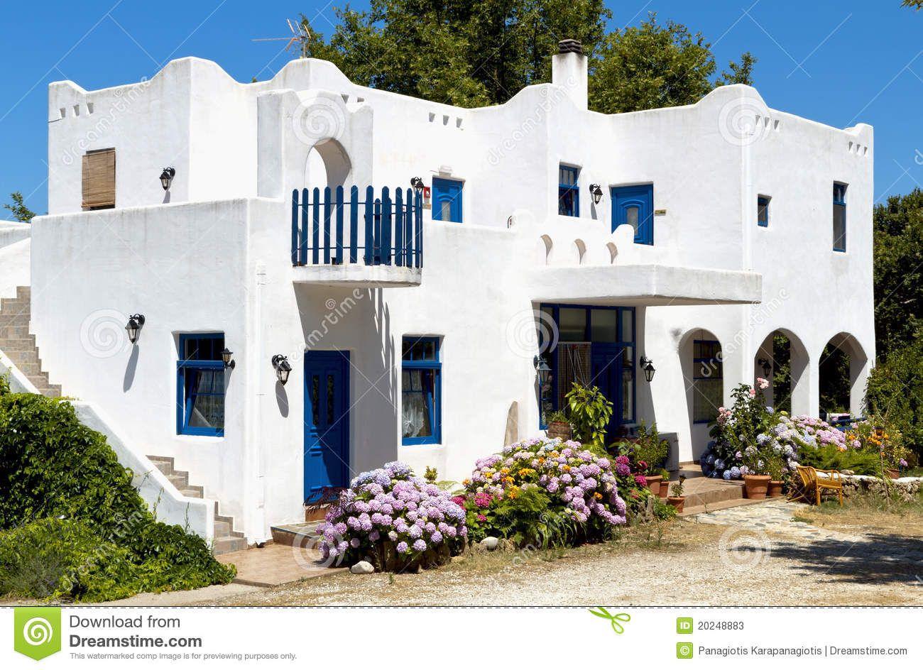 Risultati immagini per greek house Greek Houses Pinterest