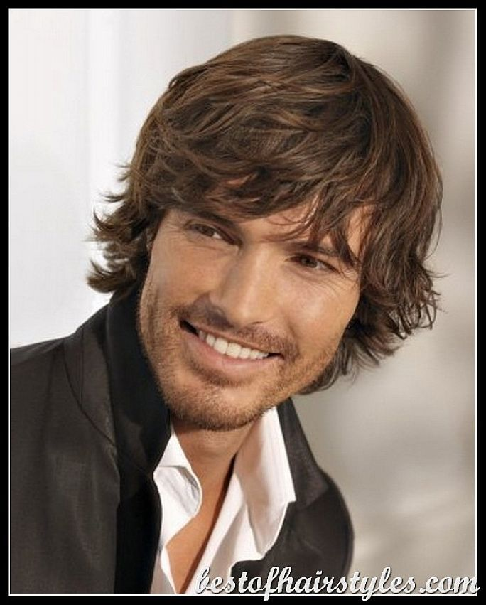 Hairstyles Male Celebrity Hairstyles For Medium Long Hair
