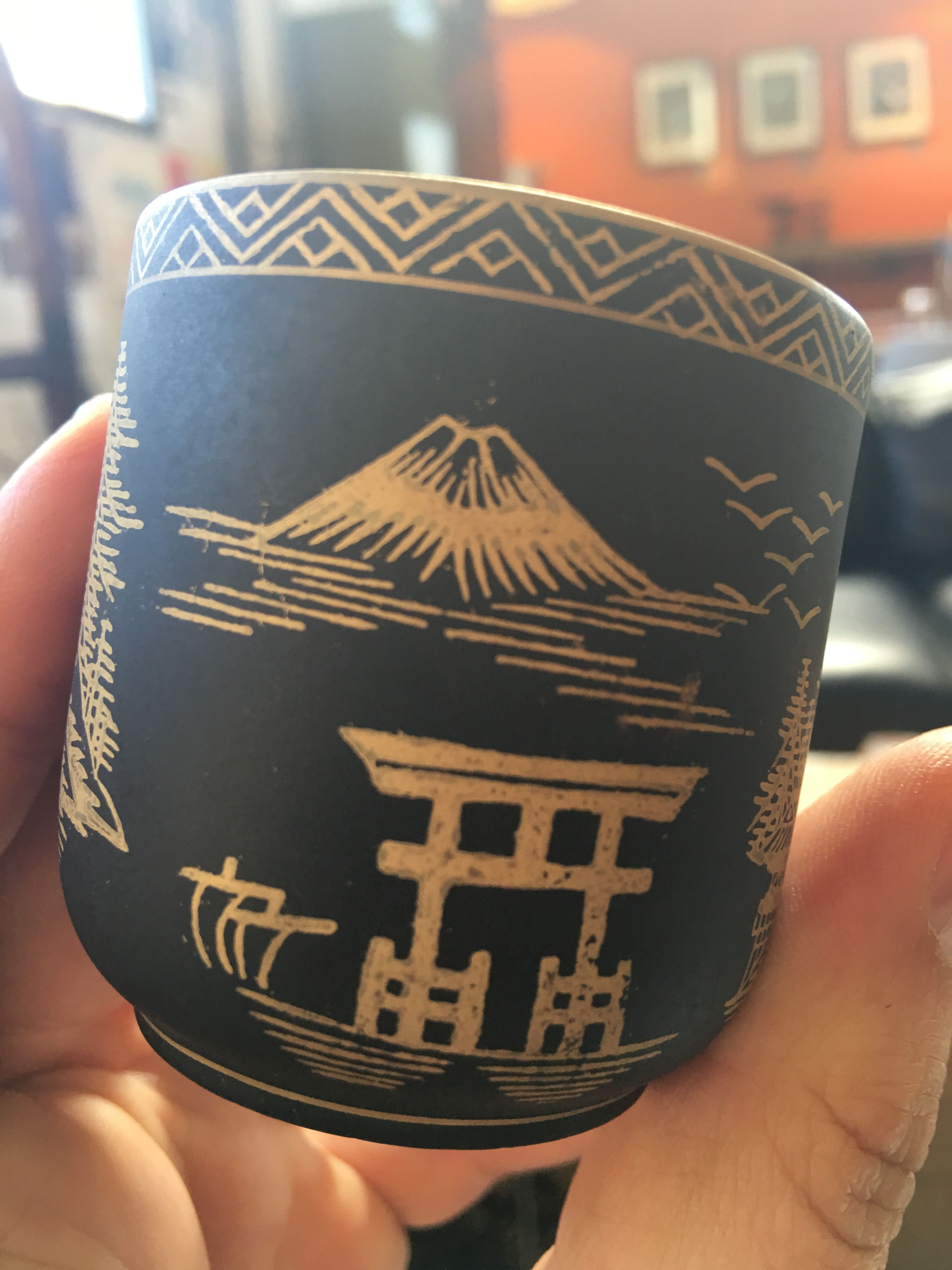 1930 Japanese porcellaine coffee cup