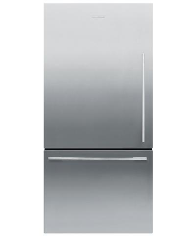 Rf170wdlx4 Fisher Paykel Activesmart Fridge Left Hinge 17 Cu Ft Counter Depth Bottom Freezer R Counter Depth Refrigerator Single Door Fridge Refrigerator