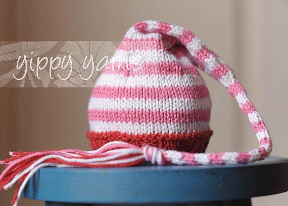 Valentine Newborn Knit Hat