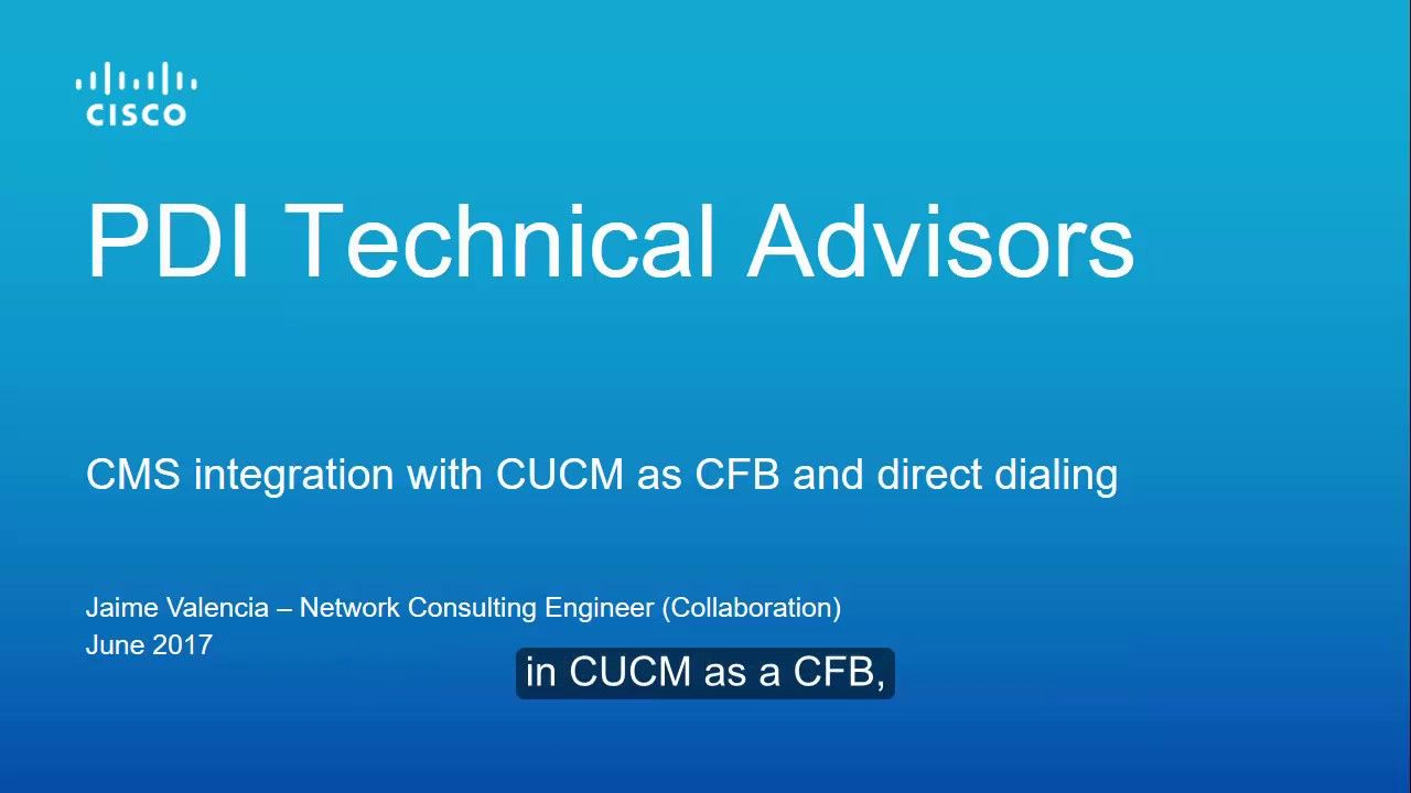 How to configure the CMS and CUCM integration (ad-hoc and