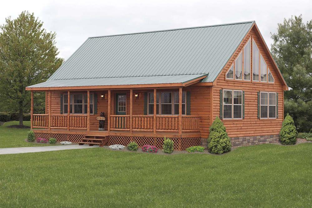 Mountainee Deluxe | Rustic | Pinterest | Log siding, Log cabins ...