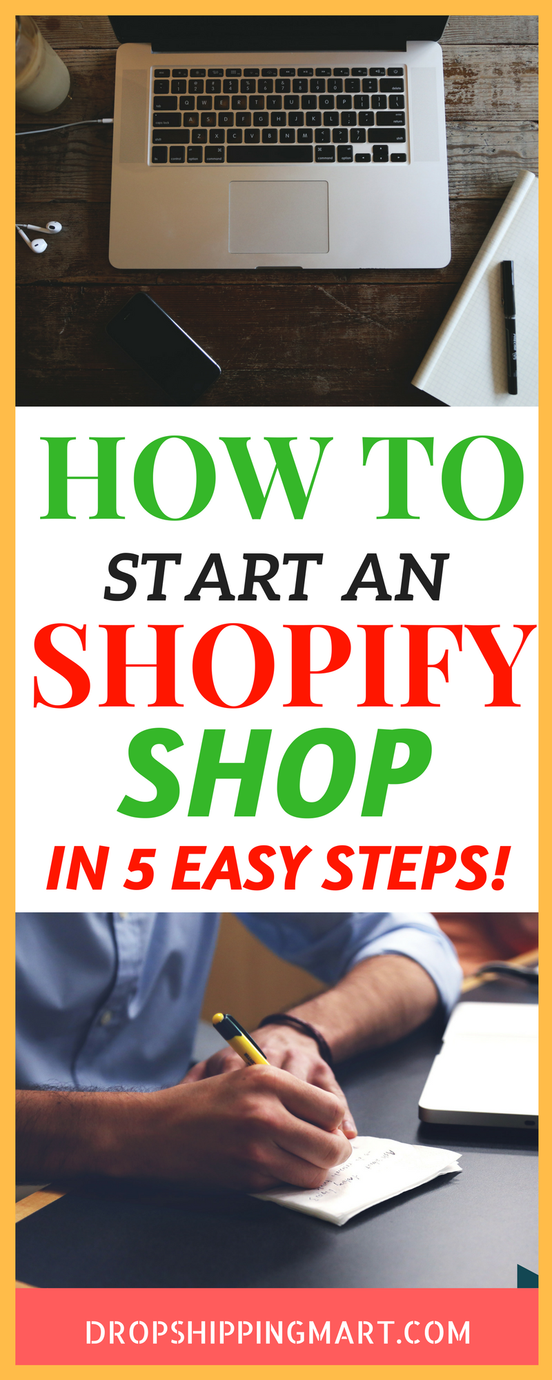 How To Start An Online Store With Shopify Drop Shipping Business