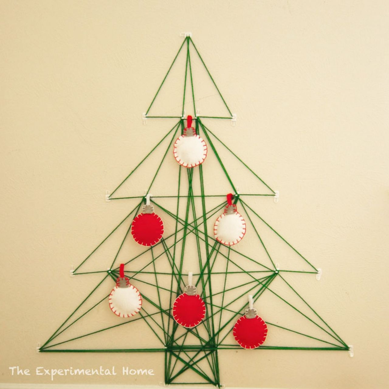 No Room for a Tree this Year? 6 Ways to DIY One on Your Wall ...