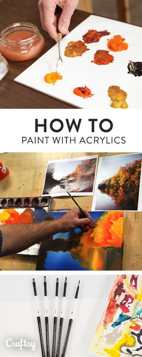 Acrylic paint is a versatile and vibrant medium with which you can create paintings of any style. Learn how to use acrylic paint in your artwork with these professional tips!