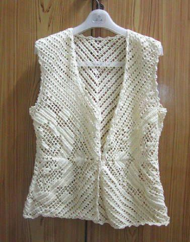 Crochet Designs Free: Beautiful bolero with crochet pattern ...