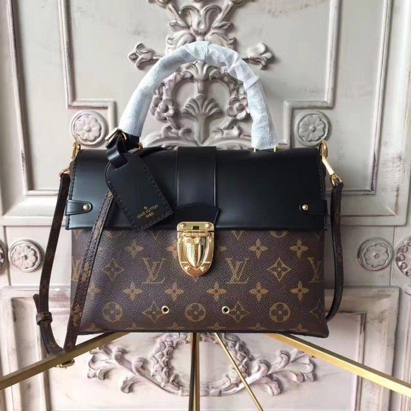 03b19d88dc0e Louis Vuitton M43125 One Handle Flap Bag MM Monogram  OneHandle ...