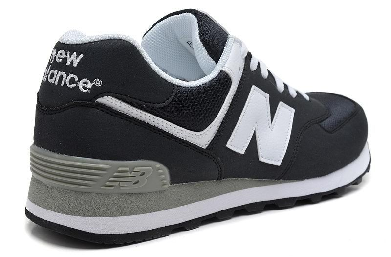 new balance 574 mens black