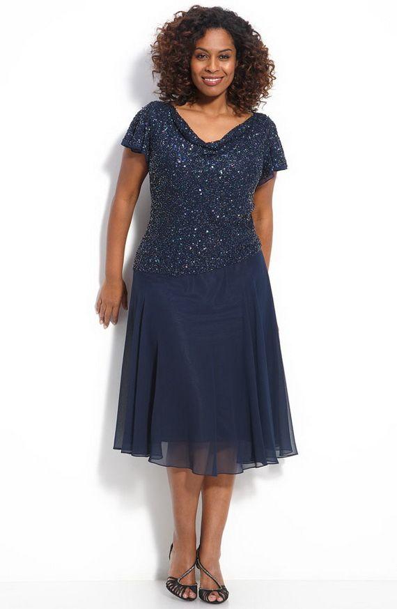 Cutethickgirls Navy Blue Plus Size Dress 03 Plussizedresses