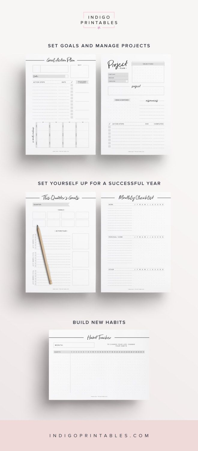 Productivity  Success Kit  Pdf Pages  Created By