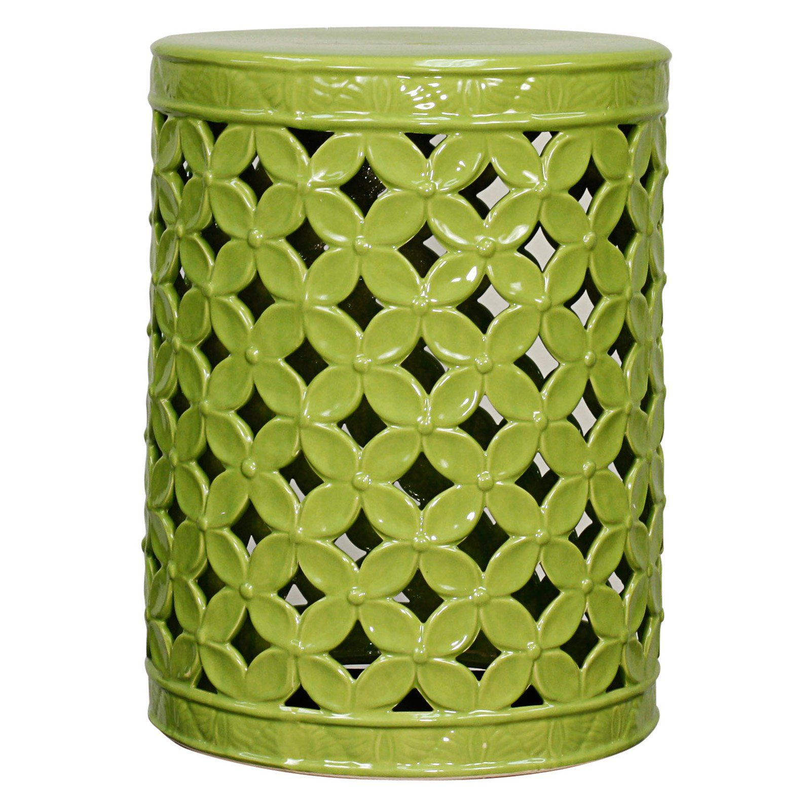Swell Outdoor New Pacific Direct Inc Lattice Leaves Garden Stool Ibusinesslaw Wood Chair Design Ideas Ibusinesslaworg