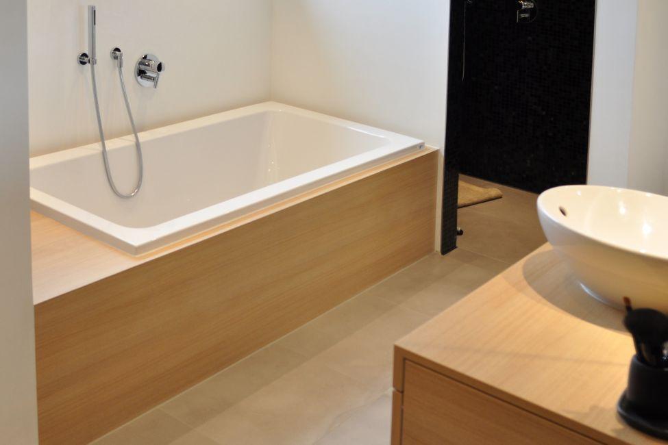Bad Ohne Fliesen Klocke Badezimmer Holz Traditionelle Bader Dusche