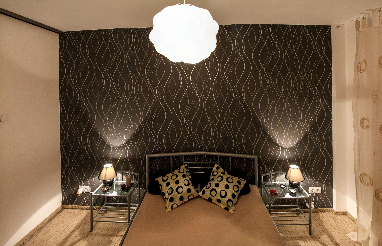 Apartment Architecture Bed Bedroom Comfort Curtain Decoration Furniture