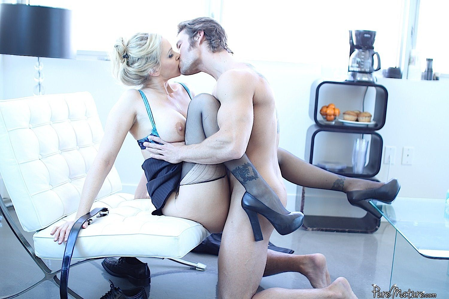 Julia Ann And Billy Hart On Set For Puremature See More At Brotherlove Com