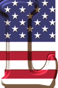 Oh My Alfabetos Alfabeto Con La Bandera De Usa Bandera De Usa Cumpleanos Patrulla Canina Decoracion Alfabeto
