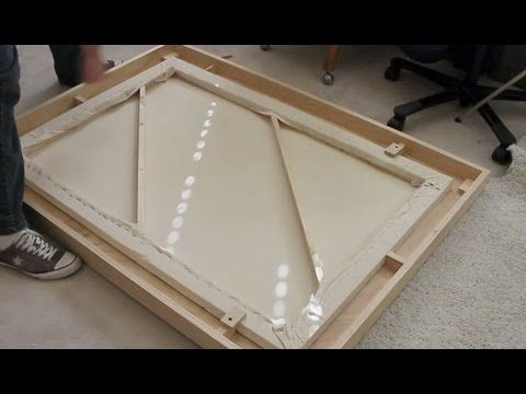 Picture Frames With A Sliding Mitre Saw