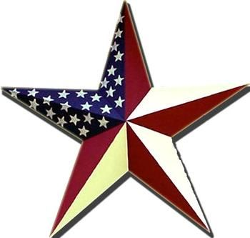 "Barn Star - 18"" Patriotic Americana Wall Star-Barn Star,Patriotic Decor,Americana,Wall Star,Wall Decor,Americana Star,Patriotic Star,Flag St..."