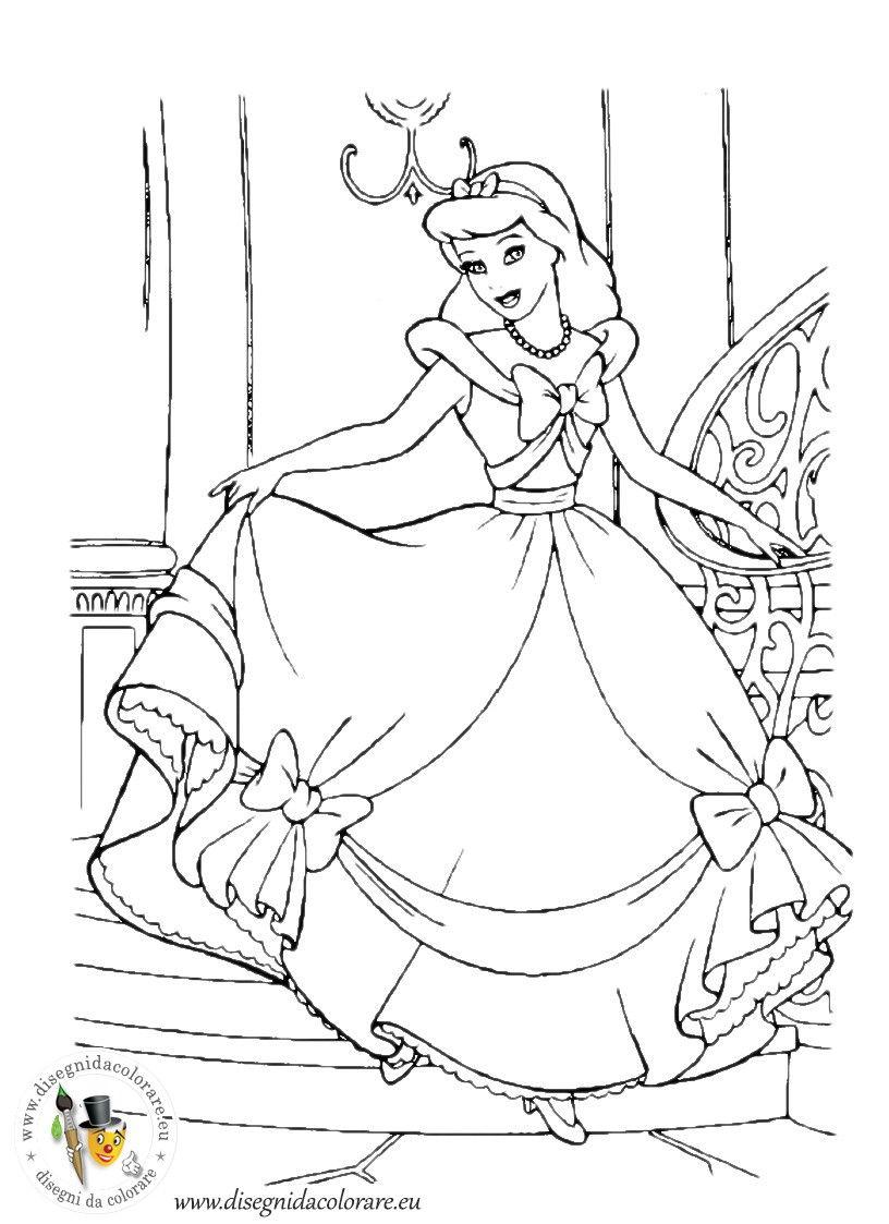 Ausmalbilder Prinzessin Kostenlos Ausdrucken : Pin Von Eva Gubik Auf Disney Coloring Pinterest Basteln Mit