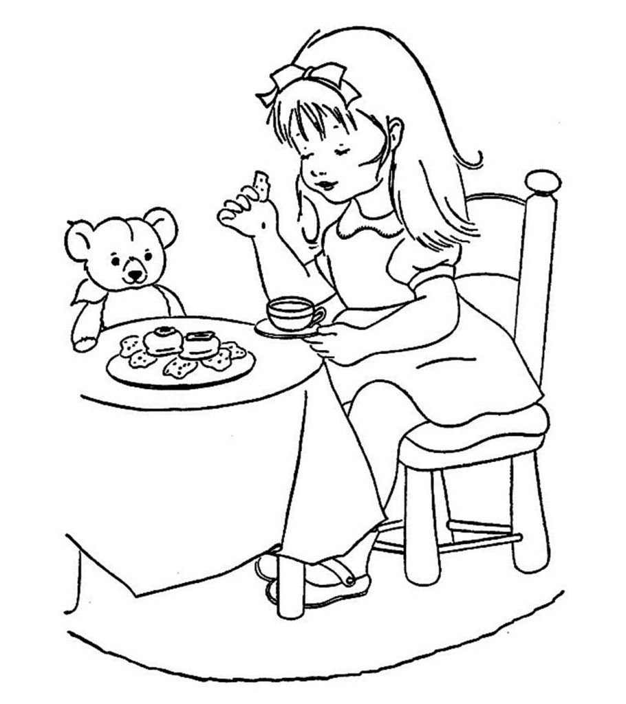 Top 10 Free Printable Goldilocks And The Three Bears Coloring Pages Online Bear Coloring Pages Coloring Books Coloring Book Pages