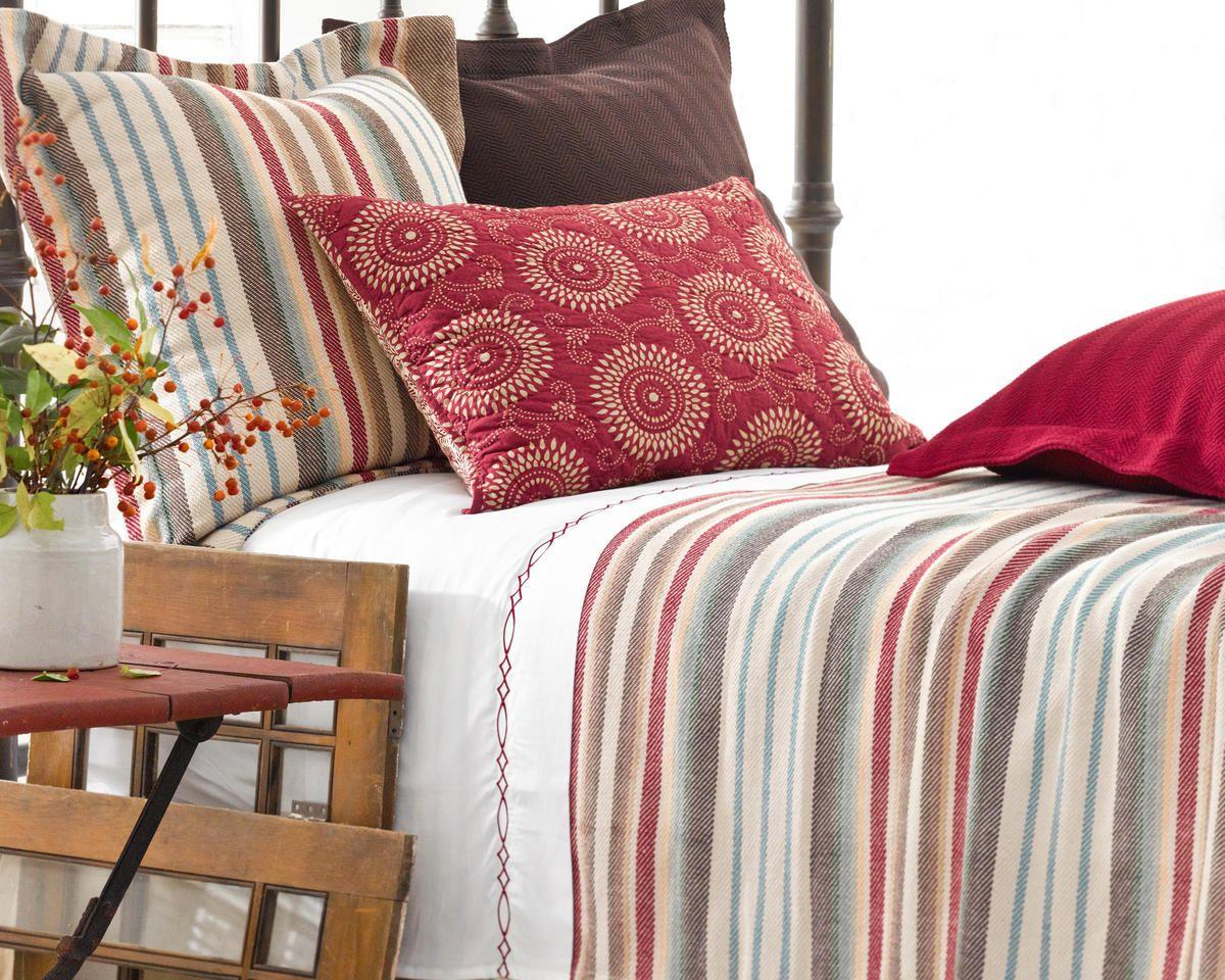 Ranch Stripe Uma Resist Bed | Ideas For Home | Pinterest | Muebles ...